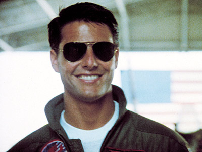 Tom Cruise in Top Gun 1